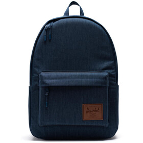 Herschel Classic X-Large Rugzak, indigo denim crosshatch